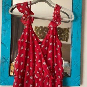 Vs Moda International Red Sundress | Size: XL|
